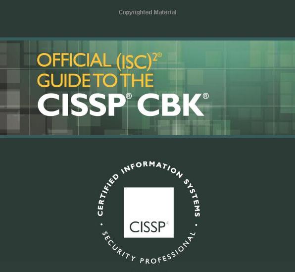 (ISC)2 CISSP Official TExtBook